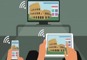 Chiếu màn hình thông qua tính năng Screen Mirroring