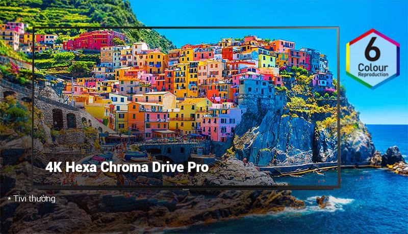 Công nghệ hình ảnh 4K Hexa Chroma Drive Pro