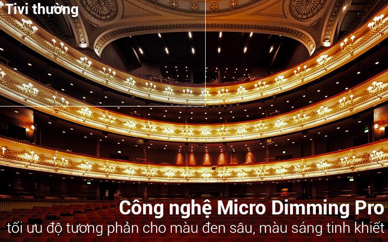 Công nghệ Micro Dimming Pro trên tivi Smart Tivi Samsung 43 inch UA43N5500
