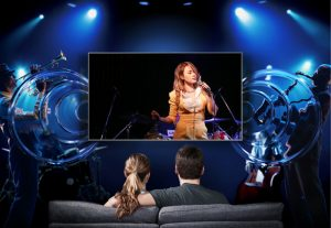 Công nghệ âm thanh Dolby Digital Plus Smart Tivi Samsung 4K UA49NU7100