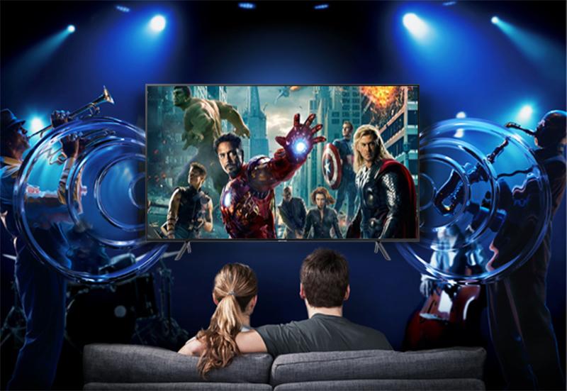 Công nghệ âm thanh Dolby Digital Plus Tivi Samsung 4K 55 inch UA55NU7100