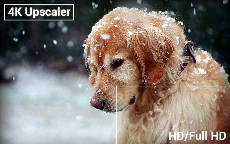 Công nghệ 4K Upscaler trên Smart Tivi LG 50 inch 50UK6540PTD
