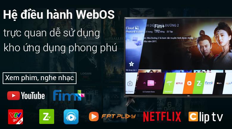 Hệ điều hành WebOS trên Smart Tivi LG 49 inch 49LK5700PTA