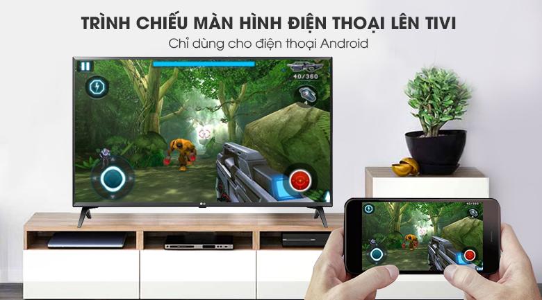 Chiếu màn hình điện thoại lên tivi Smart Tivi LG 49 inch 49LK5700PTA