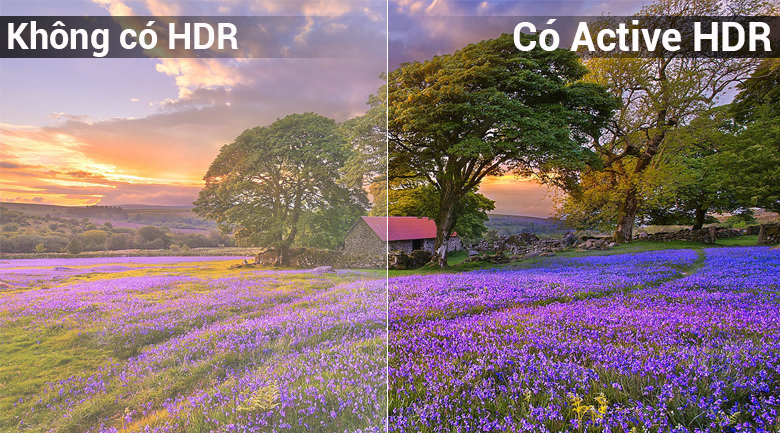 Công nghệ Active HDR trên Smart Tivi LG 4K 65 inch 65UK6100PTA