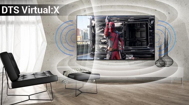 Công nghệ âm thanh DTS Virtual:X trên Smart Tivi LG 4K 65 inch 65UK6100PTA