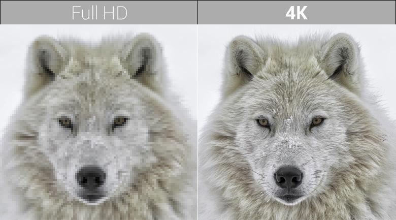 Chất lượng hình ảnh 4K của Android Tivi Sony 4K 43 inch KD-43X8500F/S