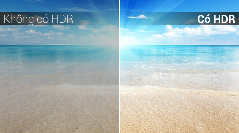 Công nghệ 4K HDR của Android Tivi Sony 4K 43 inch KD-43X8500F/S