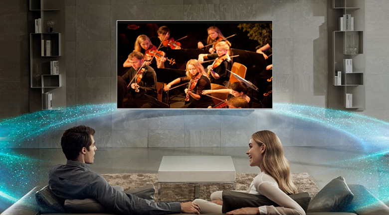 Công nghệ ClearAudio+ của Android Tivi Sony 4K 43 inch KD-43X8500F/S