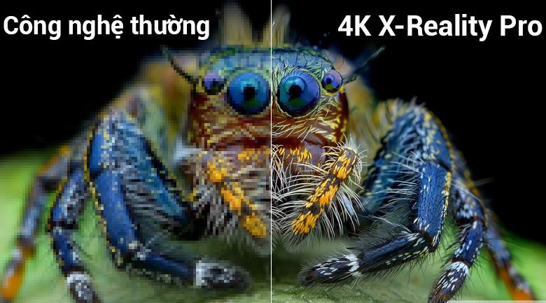 Công nghệ 4K X-Reality PRO trên Smart Tivi Sony 4K 55 inch KD-55X7000F