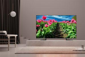 Smart tivi sony KD-85X9000F có thiết kế sang trọng, ấn tượng