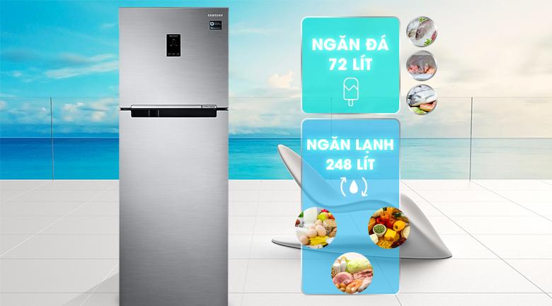 Dung tích 320 lít - Tủ lạnh Samsung Inverter 320 lít RT32K5532S8/SV