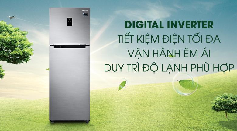 Công nghệ Digital Inverter - Tủ lạnh Samsung Inverter 320 lít RT32K5532S8/SV