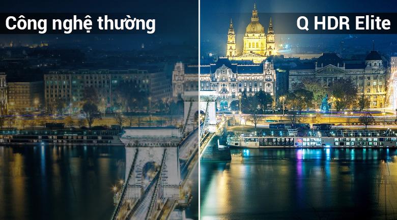 Smart Tivi QLED Samsung 4K 55 inch QA55Q6FN - Công nghệ Q HDR Elite