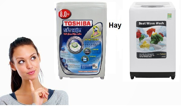 nên mua máy giặt toshiba hay hitachi