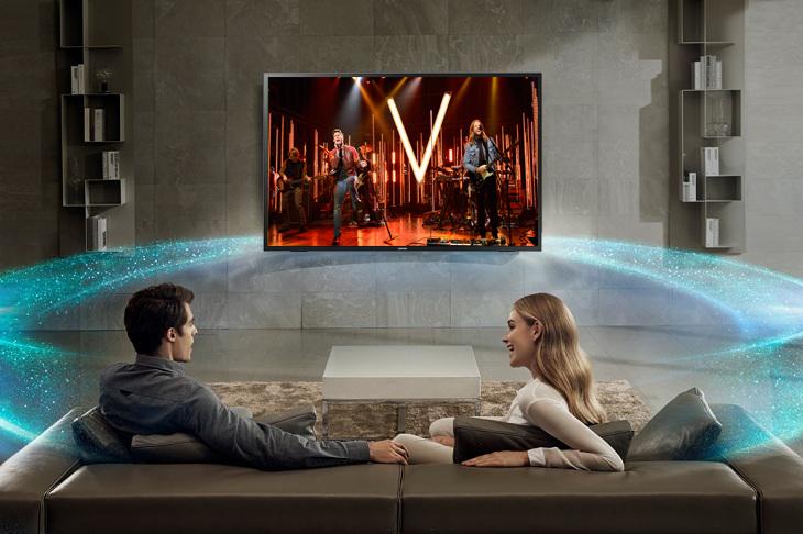 Âm thanh sống động với công nghệ âm thanh Dolby Digital Plus Tivi LED Samsung UA32N4000