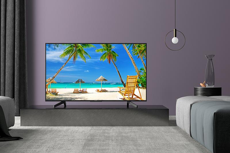 Tổng quan thiết kế Smart Tivi Sony 4K 49 inch KD-49X7000F