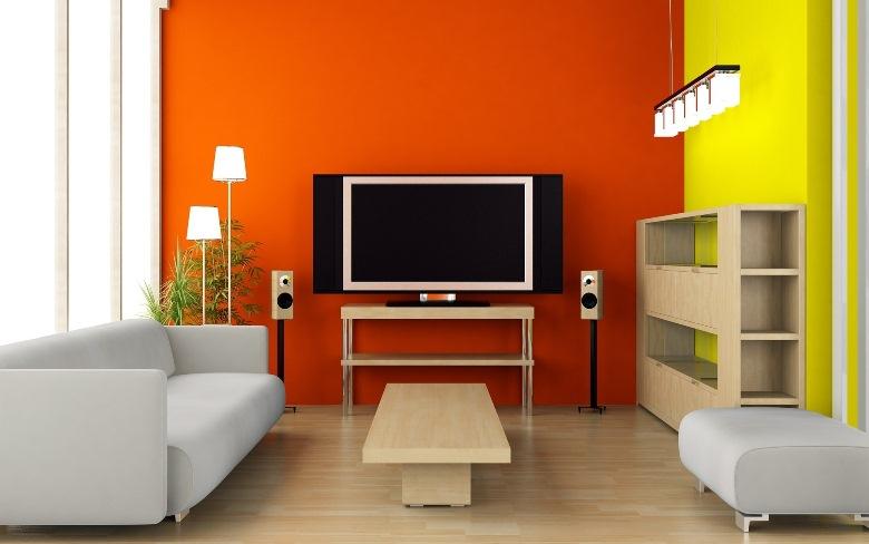 Kích thước tivi cần phù hợp với độ rộng căn phòng