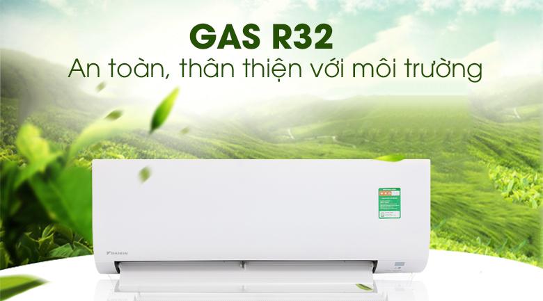 Gas R32 - Điều Hòa Daikin FTC35NV1V