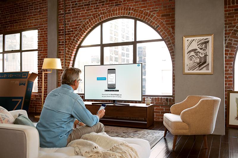 Tổng quan thiết kế Smart Tivi Samsung 4K 43 inch UA43NU7800