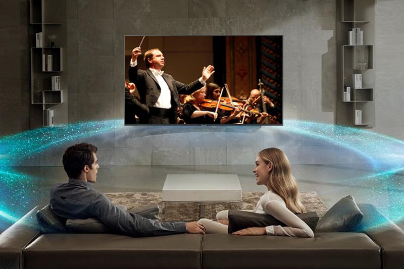 Công nghệ âm thanh trên Tivi Samsung 43 inch UA43NU7800