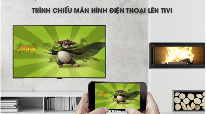 Chiếu màn hình điện thoại lên tivi UA43NU7800