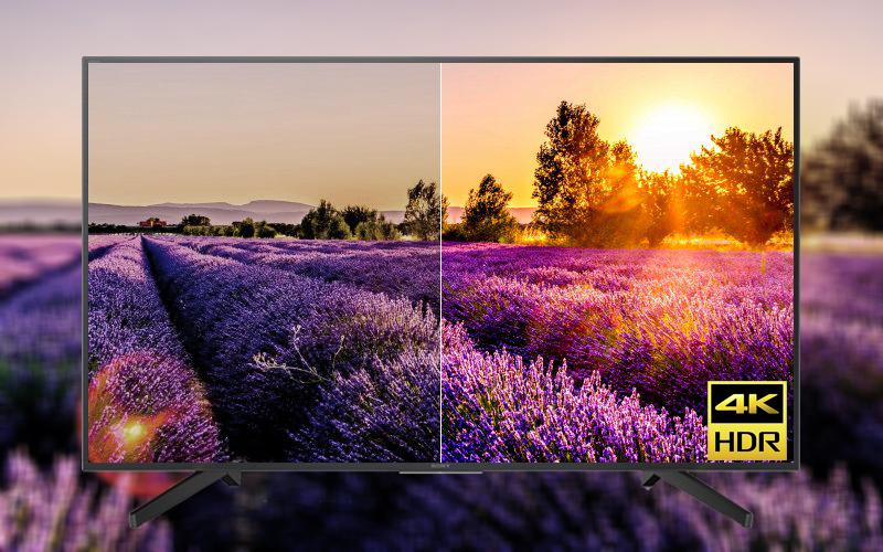 Hình ảnh chân thật rõ nét với công nghệ 4K HDR
