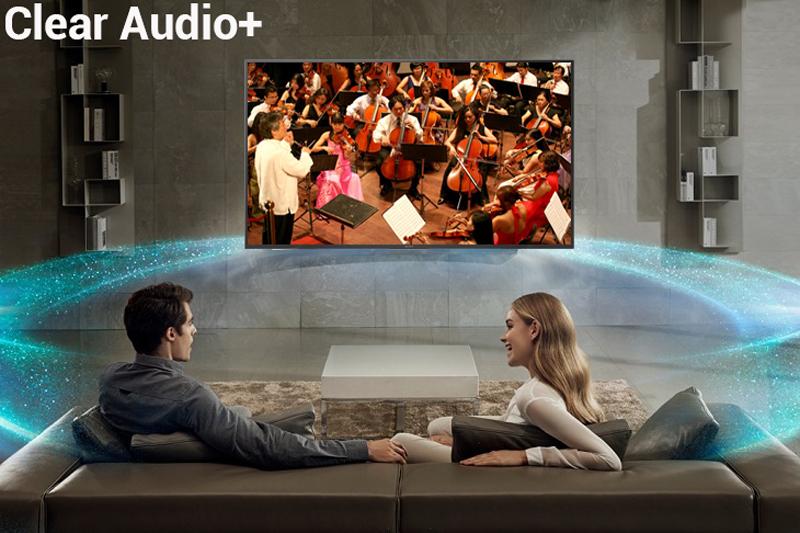 Công nghệ âm thanh Clear Audio+ trên Tivi Sony 43 inch KD-43X7000F
