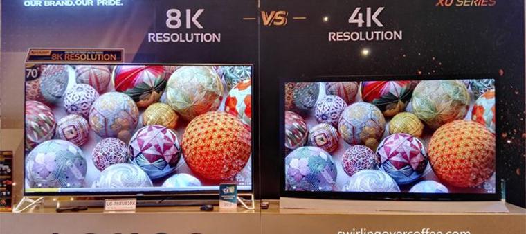 Tivi 8k sở hữu chất lượng hình ảnh siêu nét