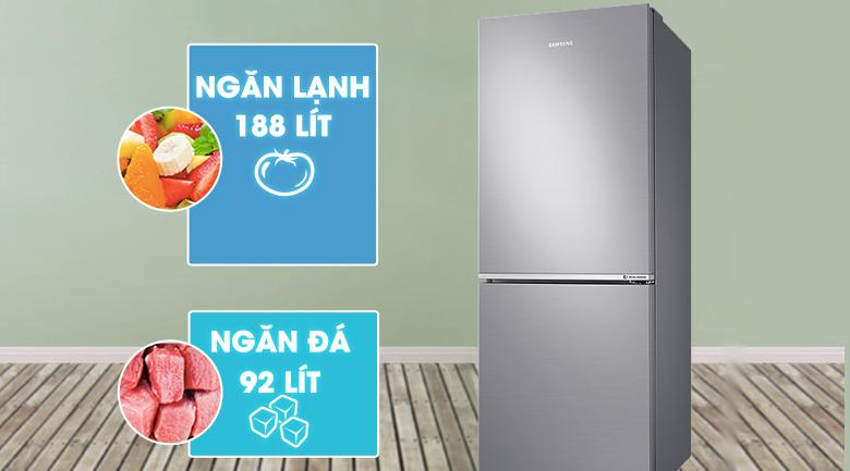 Dung tích 280 lít - Tủ lạnh Samsung Inverter 280 lít RB27N4010S8/SV