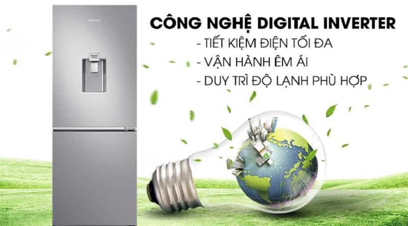 Vận hành tốt hơn với công nghệ Digital Inverter - Tủ lạnh Samsung Inverter 276 lít RB27N4170S8/SV