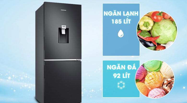 Dung tích 276 lít - Tủ lạnh Samsung Inverter 276 lít RB27N4180B1/SV