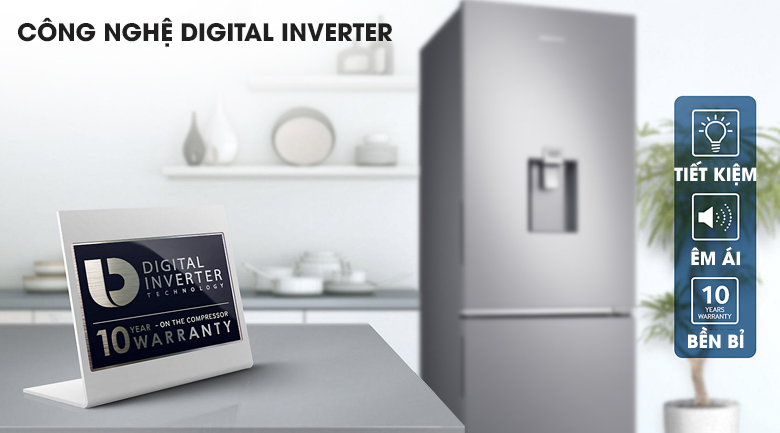 Công nghệ Digital Inverter - Tủ lạnh Samsung Inverter 307 lít RB30N4170S8/SV