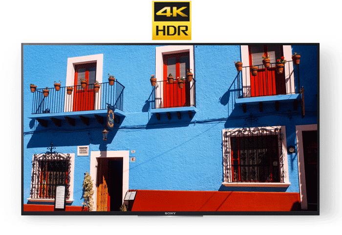 Khám phá mọi chi tiết với HDR 4K