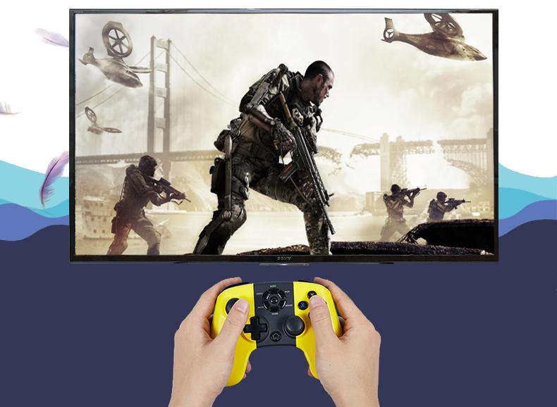 Hỗ trợ tốt phần tay cầm chơi game