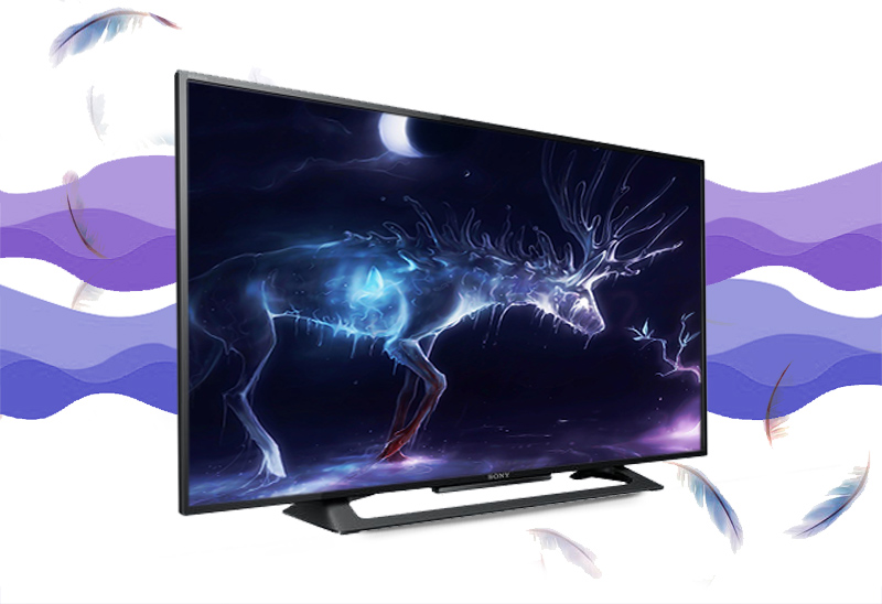 Tivi Sony 40R350C - Mạnh mẽ với phong cách thiết kế đơn giản