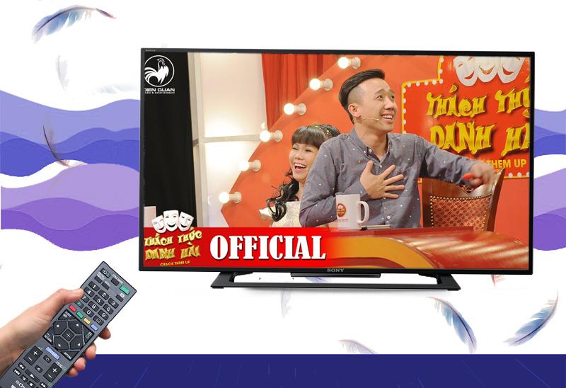 Xem truyền hình kỹ thuật số miễn phí nhờ DVB-T2 tích hợp sẵn trên tivi Sony 40R350C
