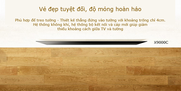 Android Tivi Sony 65X9000 65 inch