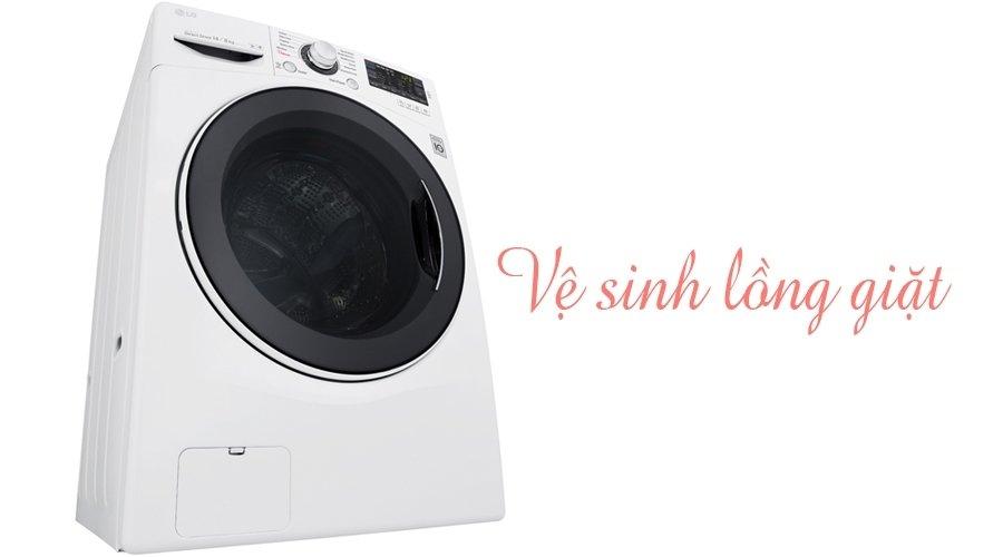 Duy trì độ bền với khả năng vệ sinh lồng giặt