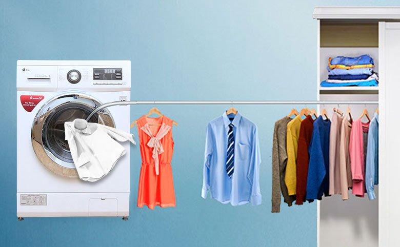 Tính năng giặt và sấy tiện lợi, chất lượng