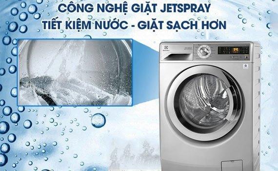 Hệ thống giặt phun Jetspray tiết kiệm nước