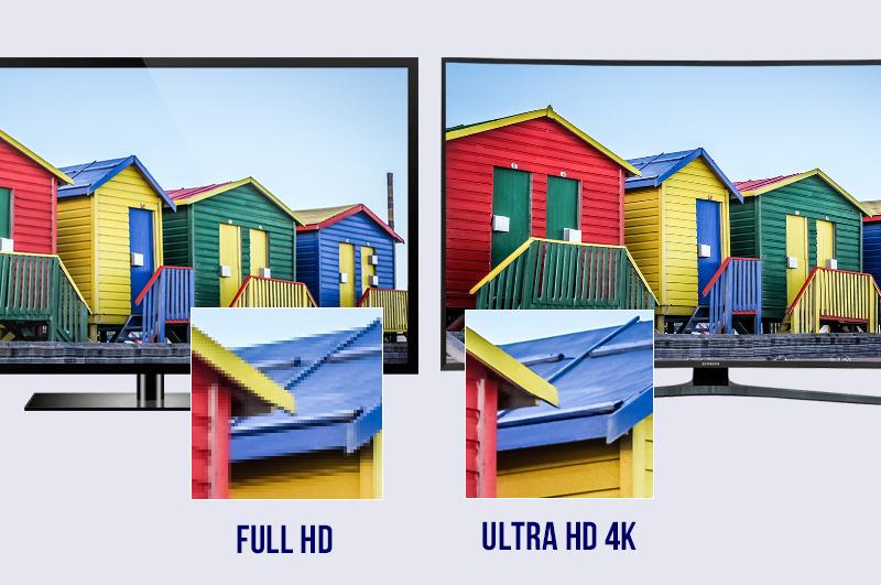 Hình ảnh đạt chuẩn HDR với độ tương phản đáng kinh ngạc, màu sắc rực rỡ tự nhiên