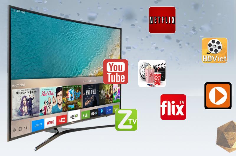 Tích hợp DVB-T2, cho phép thu nhiều kênh kỹ thuật số miễn phí không cần mua thêm đầu thu