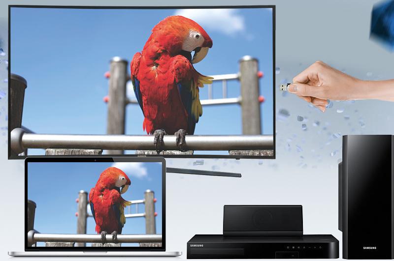 Tivi Samsung 43KU6500 Đầy đủ các tính năng kết nối phổ biến