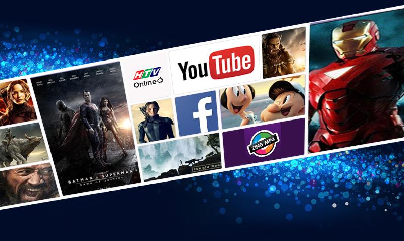 Tận hưởng thế giới giải trí vô tận nhờ kết nối Internet mạnh mẽ trên tivi Samsung UA50J5200