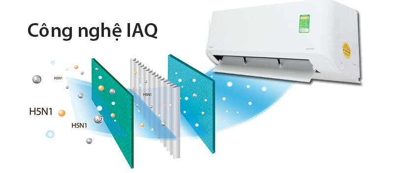 Bộ lọc Toshiba IAQ thông minh bảo vệ sức khỏe của người dùng
