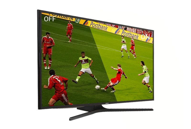 """Xem bóng đá """"đã tai"""" , """"đã mắt"""" hơn với chế độ thể thao trên tivi Samsung 48J5000"""