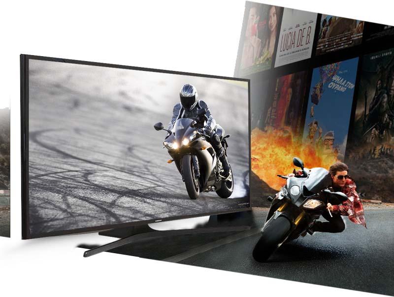 Chỉ số chuyển động rõ nét trên Tivi Samsung 48J5000