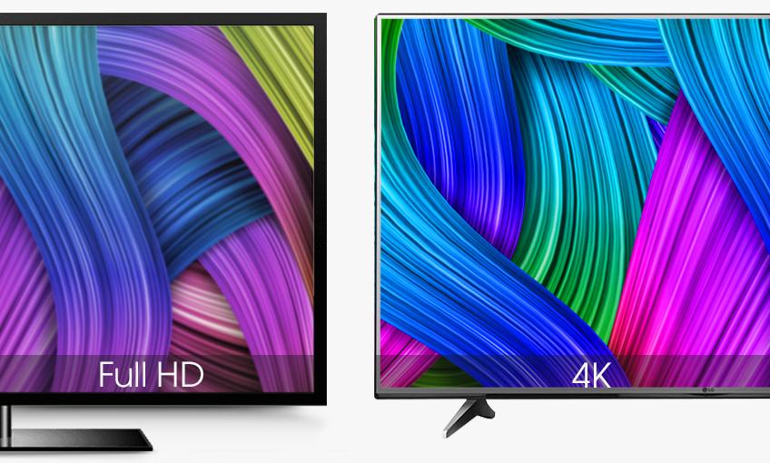Tivi LG 55UH617T cùng màn hình siêu nét với độ phân giải Ultra HD 4K