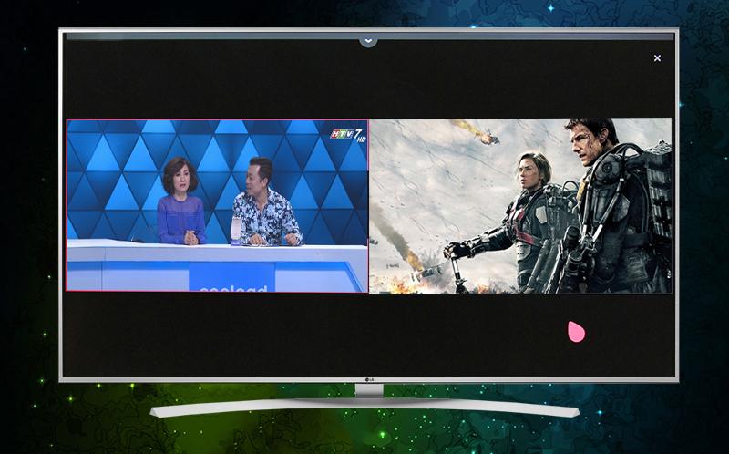 Xem 2 màn hình cùng lúc trên tivi LG 65UH770T